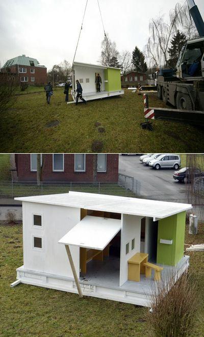 Бумажный дом принесёт дешёвый комфорт миру трущоб