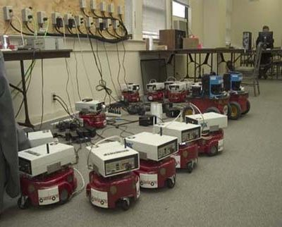 Centibots: сто роботов оккупировали здание научного центра