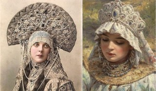 Чем девушки любили себя украшать в допетровскую эпоху
