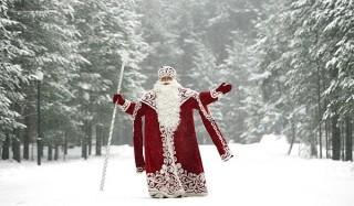 Дед мороз празднует день рождения