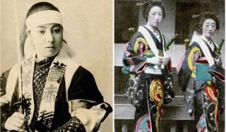 Древнее сословие женщин-самураев