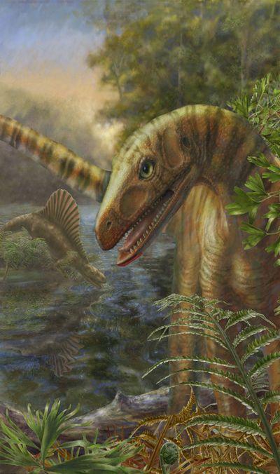 Древнейший кузен динозавров тянет ихпоявление вглубины прошлого