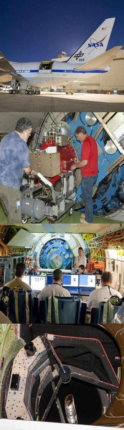 Инфракрасный телескоп расправил крылья в небе