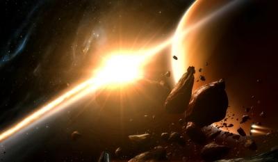 К земле приближается двойной астероид