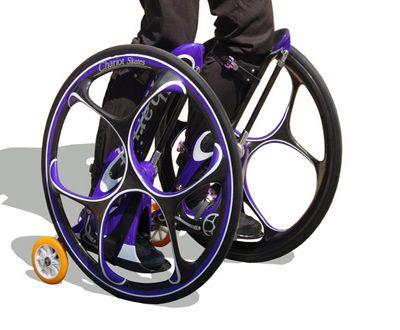 Колесница-коньки смешивает опыт трёх видов спорта