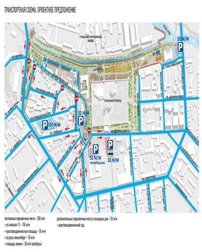 Крестовоздвиженская без кругового движения, парковки, гидропарк. как изменилась «тульская набережная» по итогам публичных обсуждений?