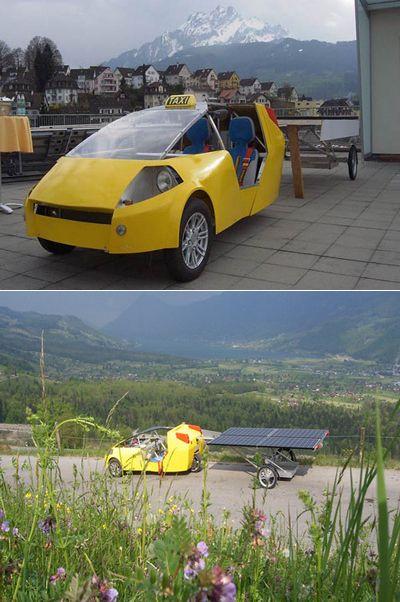 Кругосветное такси возит солнце за собой