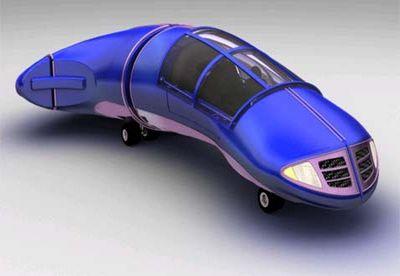 Летающие автомобили поднимутся внебо в2006 году
