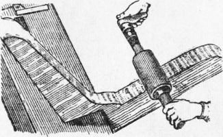 Механизированное шлифование древесины