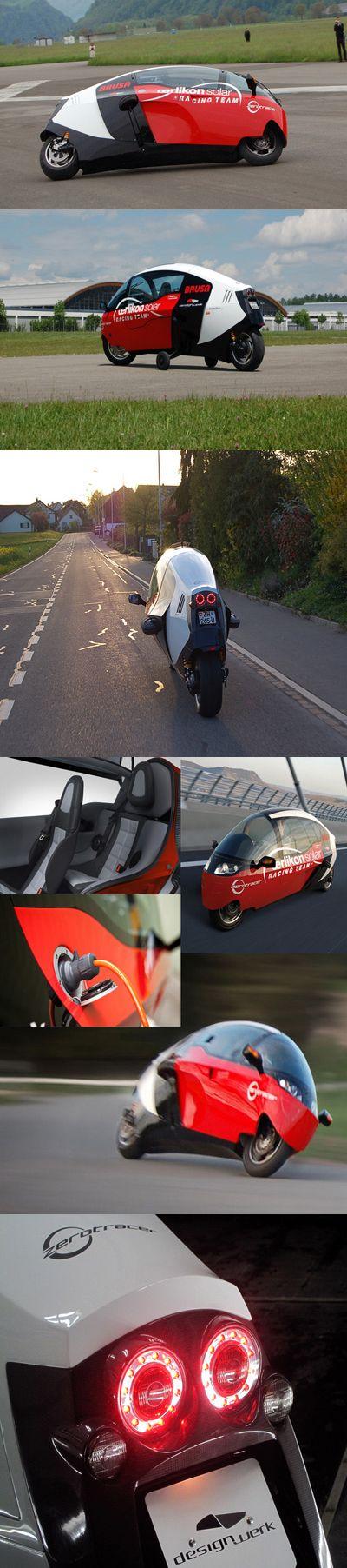 Мотоцикл-кокон безвыхлопа обогнёт мир наперегонки