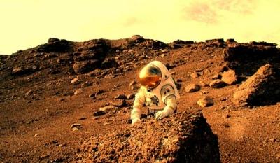 На марсе нашли советскую станцию
