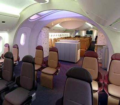 На новый углеродный самолёт компания boeing ставит всё