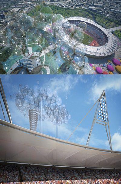 Облако-башня поднимет туристов над олимпиадой