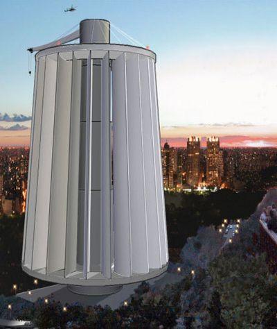 Парящая башня поймает силу ураганного ветра