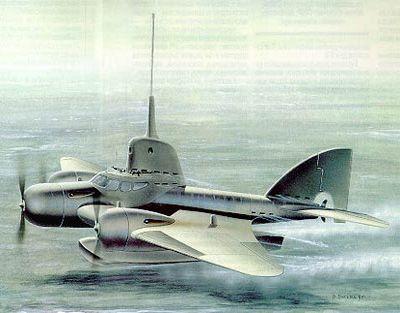 Подводные самолёты. часть вторая: быстрые приводнения