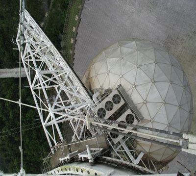 Радиотелескоп в аресибо послал важный фермент внеземному разуму