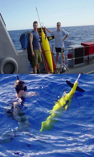 Робот-планер проплавал рекордные девятьмесяцев