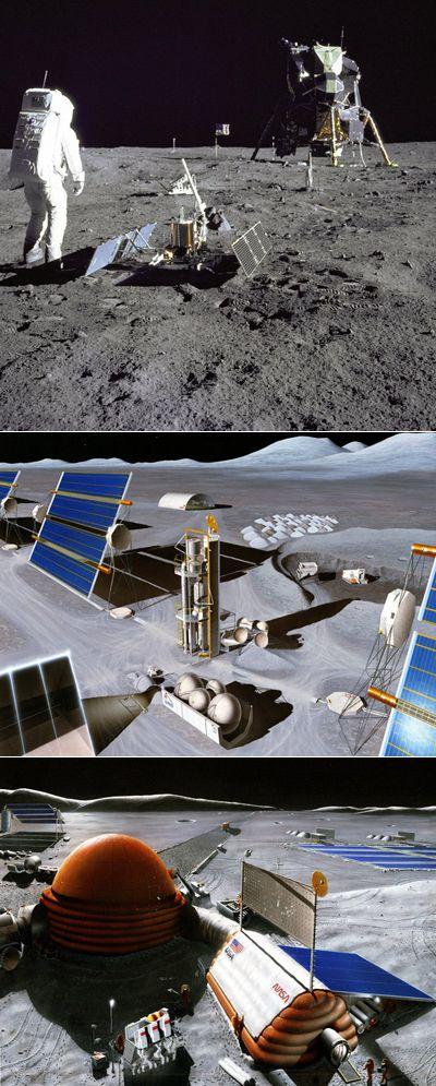 Роботы-землекопы почистят луну к возвращению людей