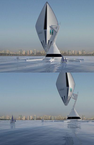 Samsung заинтересовался летающим отелем наводороде