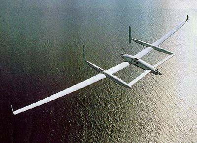 Соискатели x prize: в космос на самолёте spaceshipone