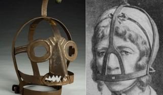 Средневековое орудие пытки для сварливых женщин