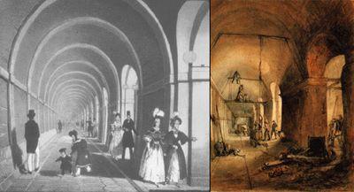 Старейший туннель под рекой соединил три века лондона