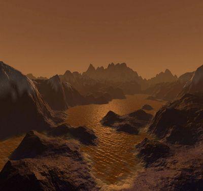 Титан обернулся колоссальной кладовой органики