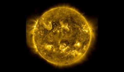 Три года жизни солнца уложили в три минуты