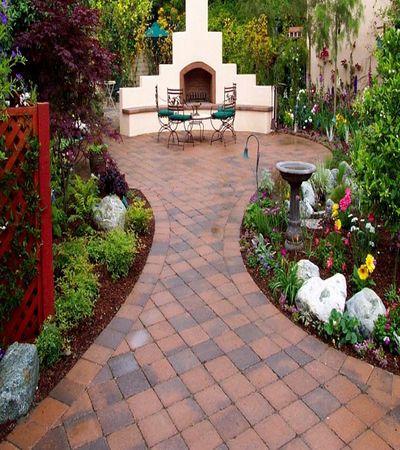 Тротуарная плитка для загородного участка