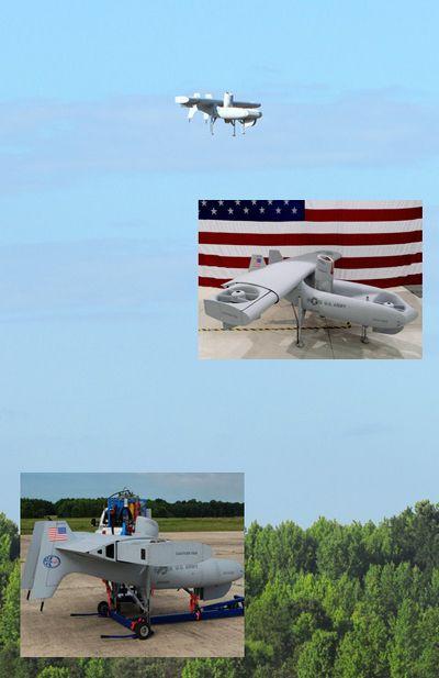 Ударный летающий робот excalibur смешал керосин с электричеством