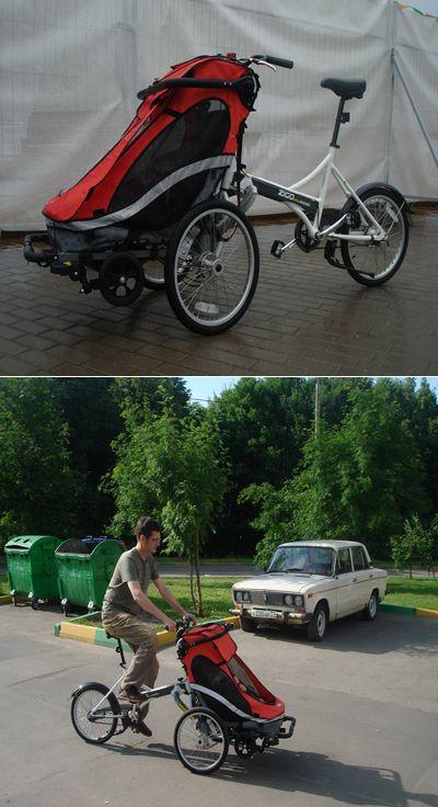 Велотрансформеры: месть прицепов. zigo vs. chariot